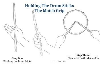 How to Hold the drum sticks | Drums, How to play drums, Drum lessons