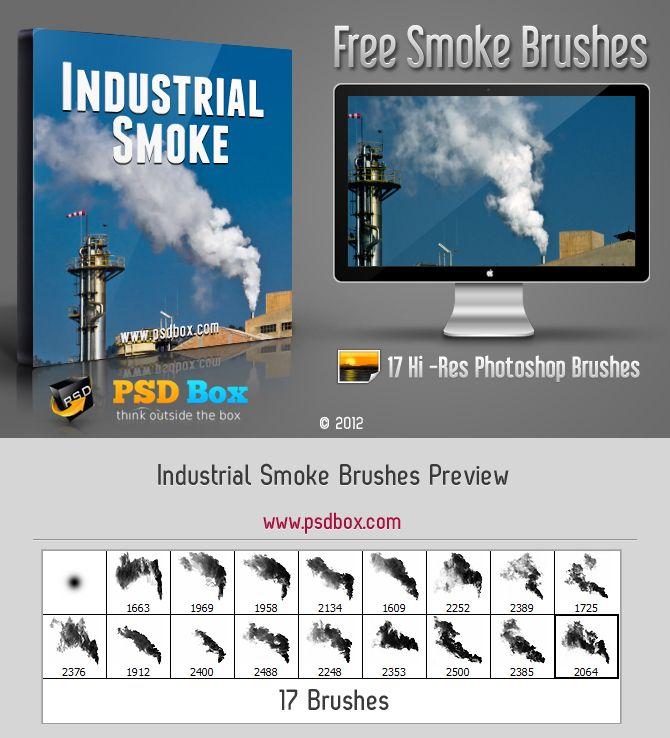 Industrial Smoke Brushes by Andrei-Oprinca.deviantart.com