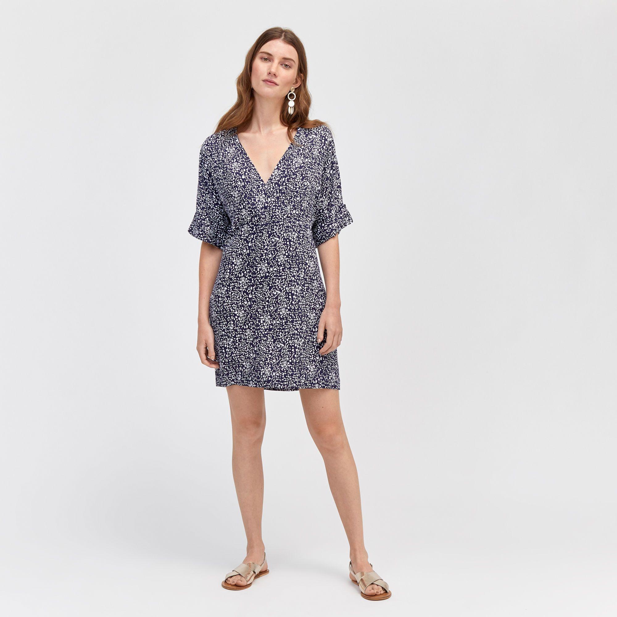 Warehouse Spiral Print Wrap Shift Dress Blue Pattern 2 Shift Dress Summer Shift Dress Spirit Clothing [ 2000 x 2000 Pixel ]