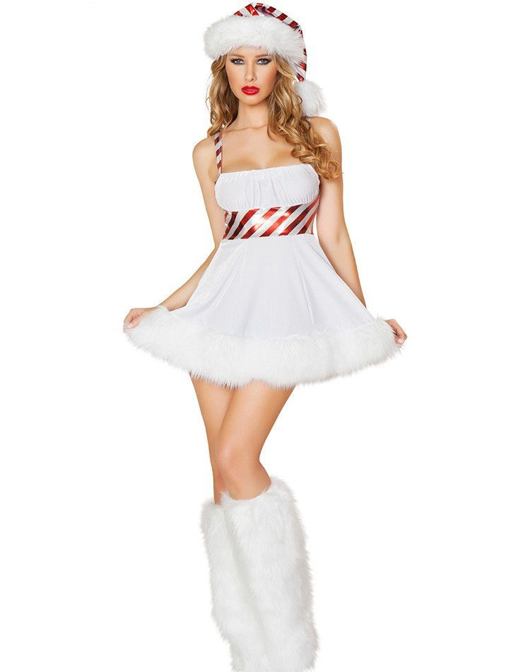 f62d62a3b90d 2016 Hot Women's Good Quality Sexy Costume Candy Cane Cutie Costume ...