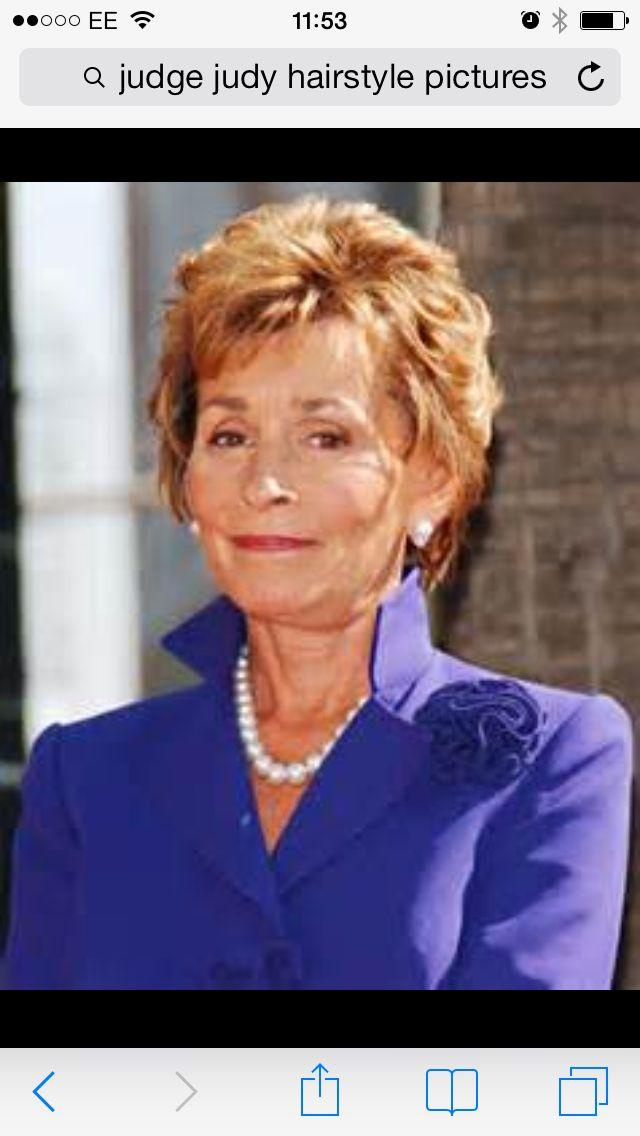 Judge Judy | Mom hairstyles, Hair cuts, Judge judy