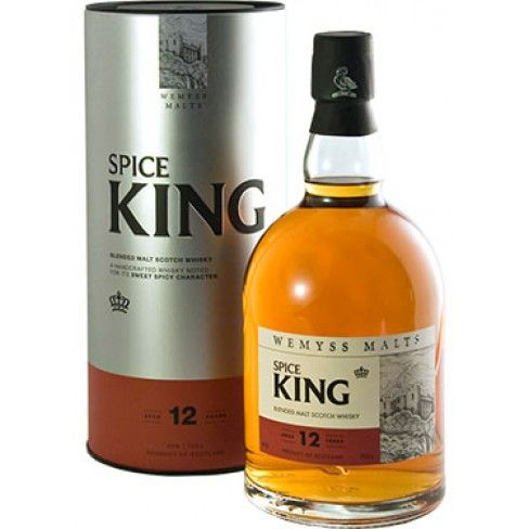 Caskers Selection: Wemyss Spice King 12 Year Old Blended Malt Scotch Whisky | $70.00.