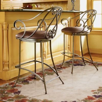 Catawba Swivel Bar Stool From Frontgate Kitchen Bar