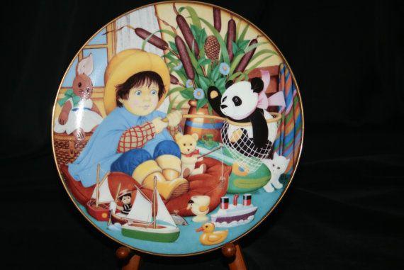 The 1998 Carol Lawson Plate   Little by HeathersVintageRetro, $20.00