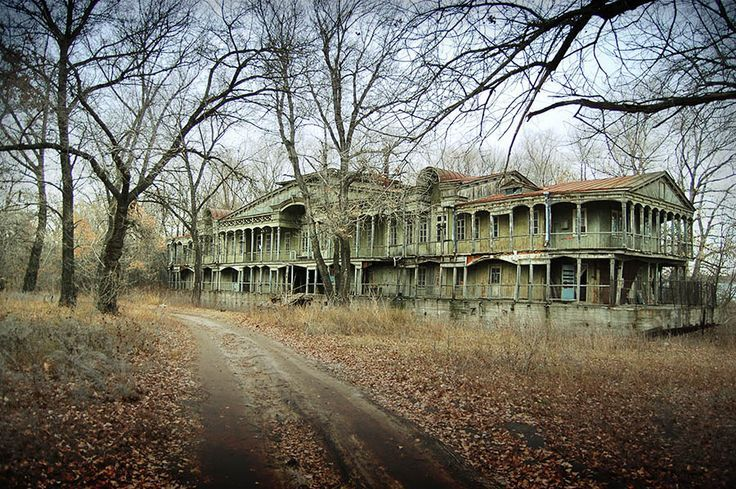 abandoned mansion | Abandoned mansion in the woods  C: | old