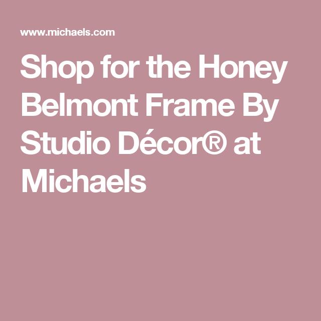 shop for the honey belmont frame by studio dcor at michaels - Michaels Frame Shop
