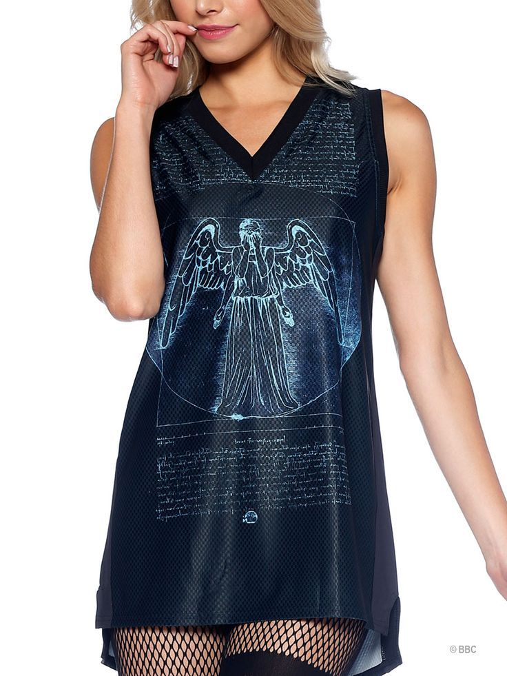 5e30ce715ca This Vitruvian Angel jersey is so chic you'll want to weep. Fashion Line