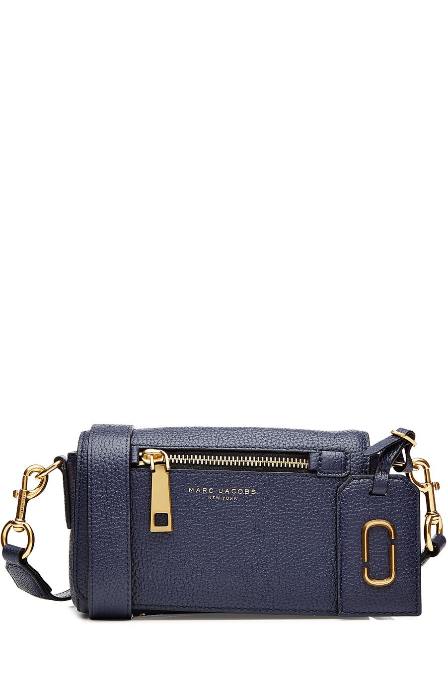 MARC JACOBS Gotham City Leather Cross Body Bag.  marcjacobs  bags  shoulder  bags  leather  denim  lining   a4955b6092fd