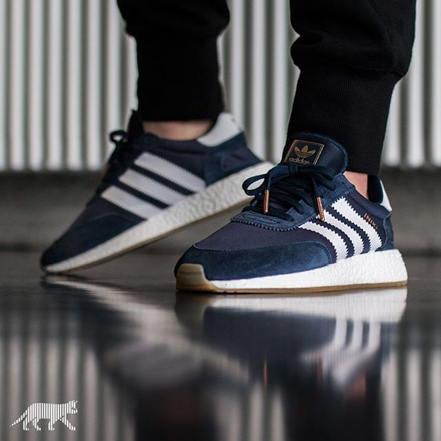 adidas iniki runner blue 2 On Foot: adidas INIKI Runner (Red & Collegiate  Navy) eukicks