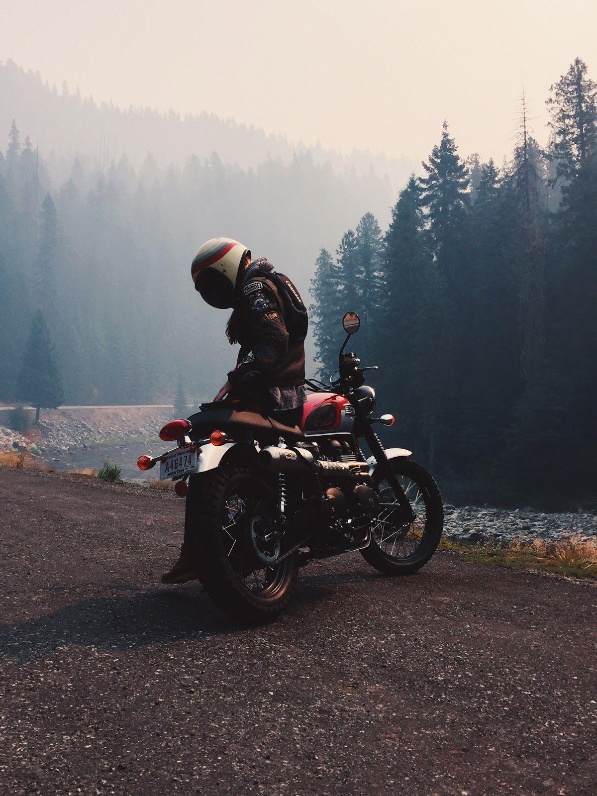 Montana Meet Up With Iron & Air (Moto Mucci) #motorcyclesgirls #chicasmoteras   …