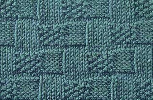 Basket Weave Moss Stitch A Beautiful Basket Weave Stitch With A