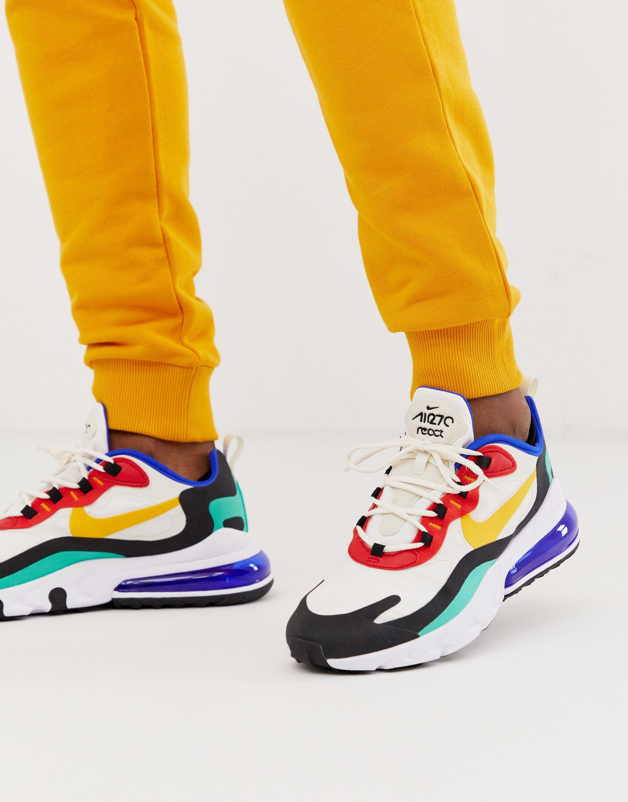 Nike Air Max 270 React Bauhaus trainers | Sneakers nike air ...