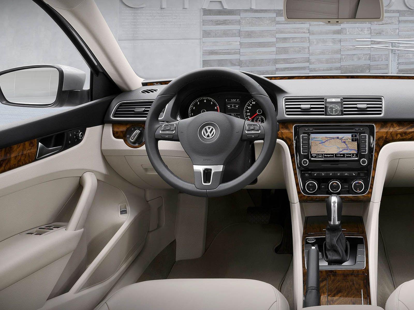 Volkswagen Passat Us Version 2012 Interior Volkswagen Passat Volkswagen 2015 Cars
