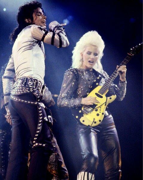 Jennifer Batten & Michael Jackson