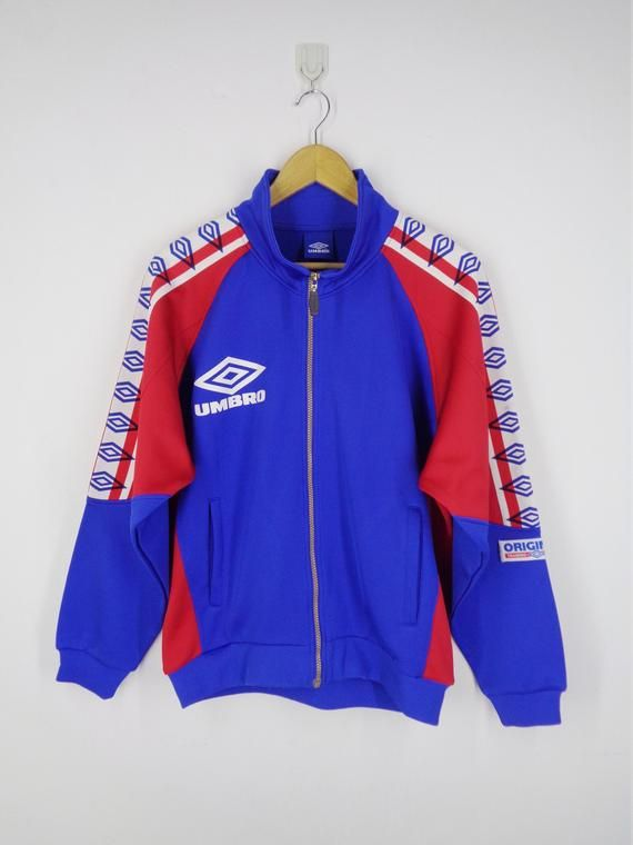 1ce1c6fd89 Umbro Track Top Umbro Jacket Vintage 90's Umbro Taped Logo Track Jacket  Umbro Vintage Colorblock Jac