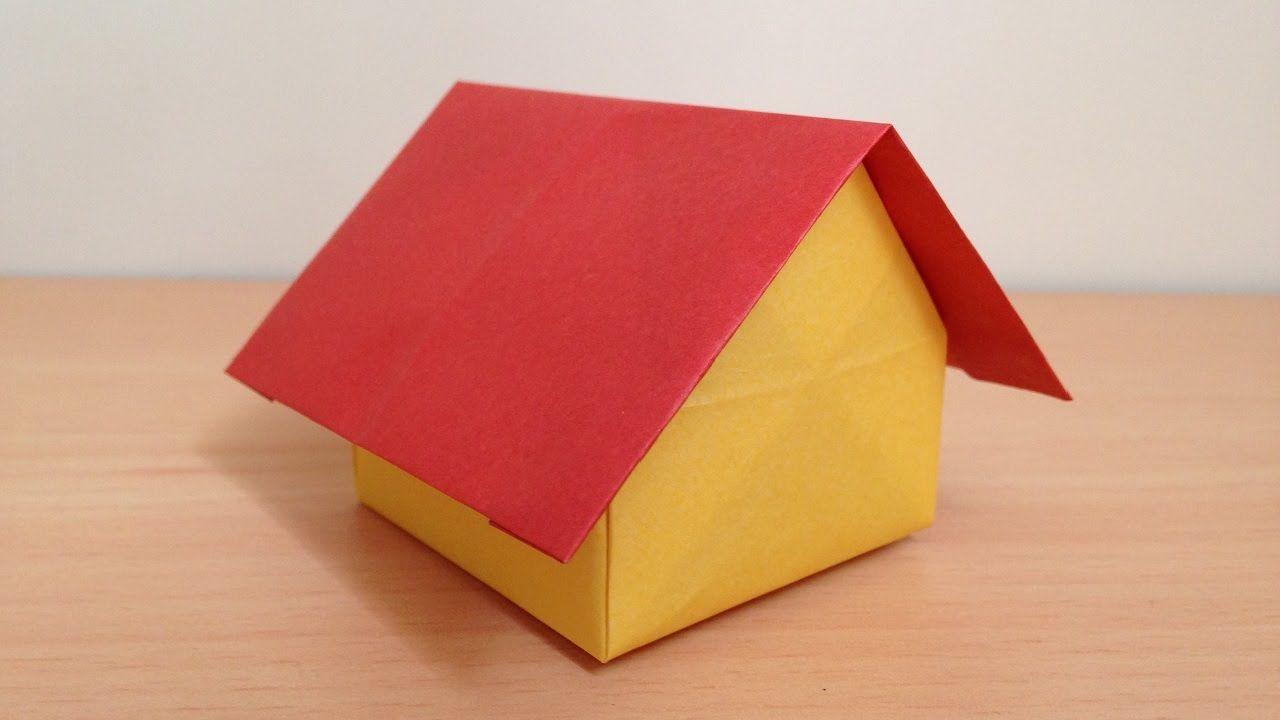 折り紙 ドールハウス 家 折り方 Origami Dollhouse 折り紙の箱
