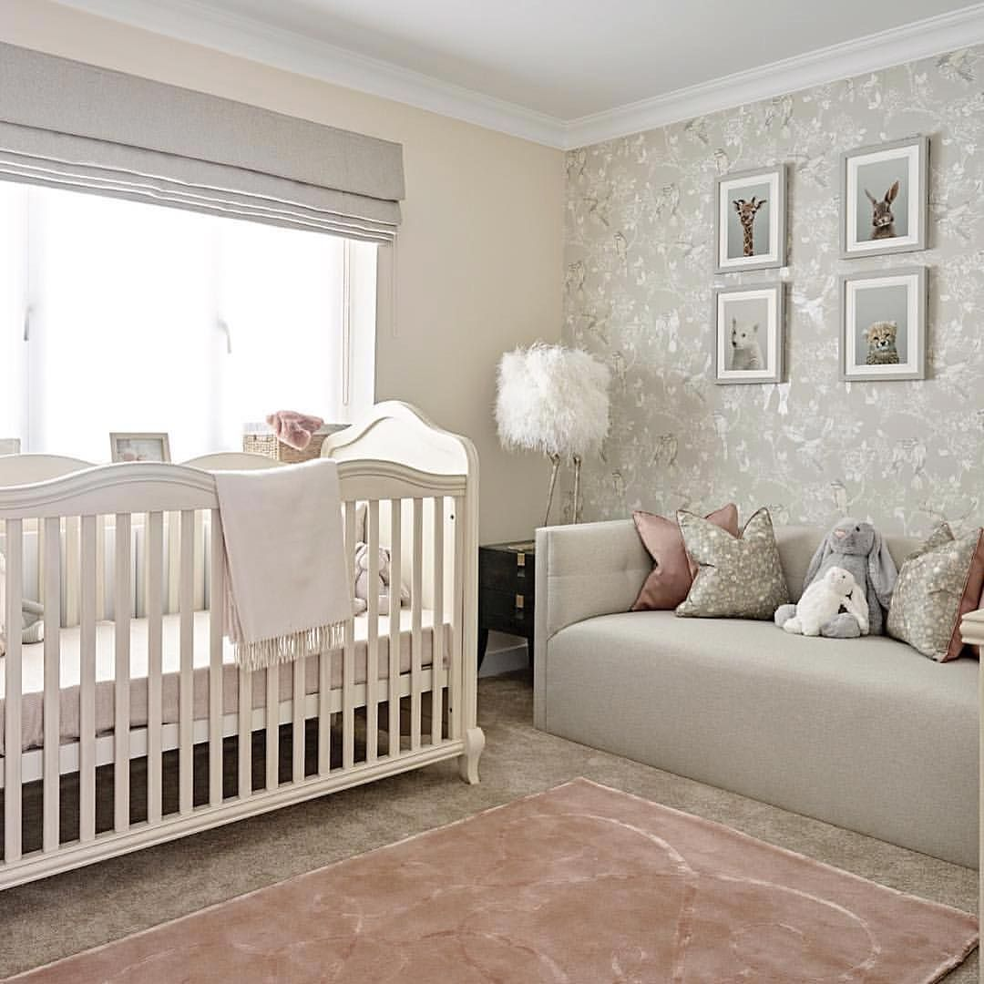 Accented Neutral Color Scheme Bedroom: I Just Love A Good Neutral Color Scheme! As The Child Gets