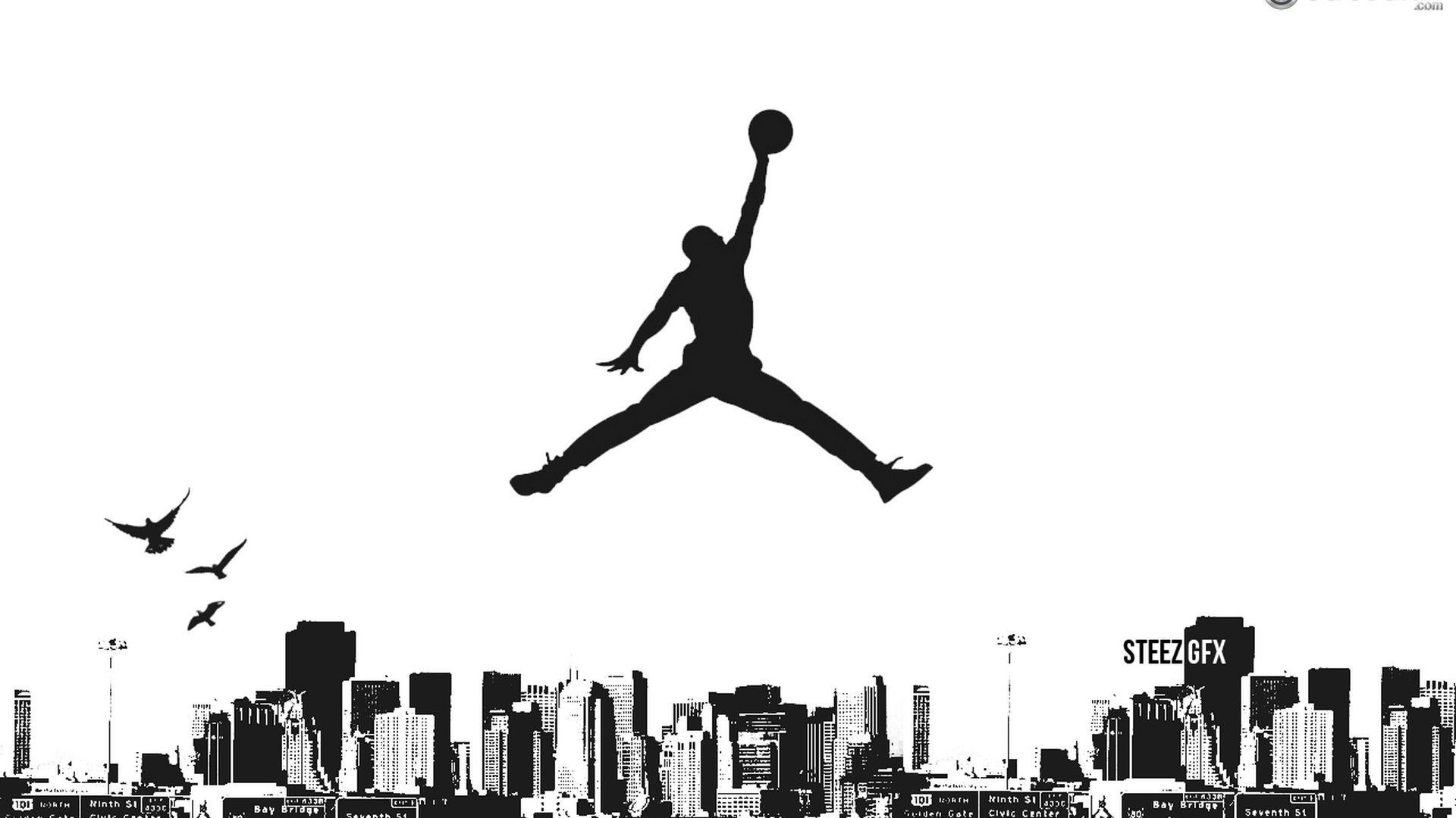 Basketball Games Wallpaper HD Jordan logo wallpaper