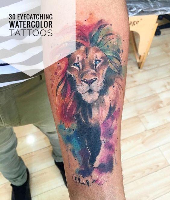30 Watercolor Tattoo Ideas For Men