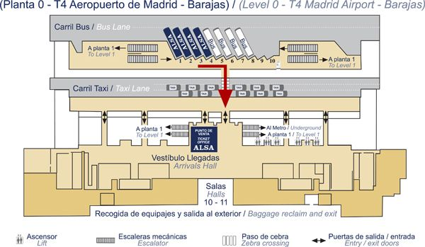 Mapa Aeropuerto Barajas T4.Plano Taquilla T4 Barajas En 2019 Aeropuerto Madrid