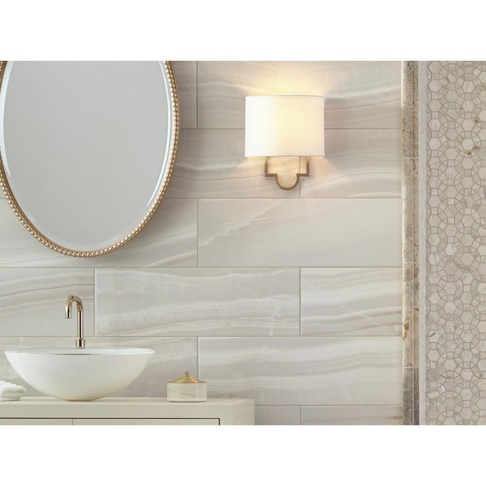 Onyx Ceramic Wall Tile - 8 x 24 - 100189117 | Floor and Decor ...