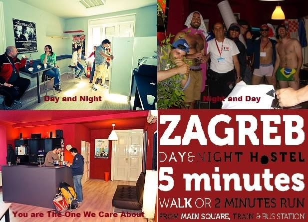 My Way Hostel Presents Fraternal Day And Night Hostel Welcome Zagreb Croatia Zagreb Day For Night