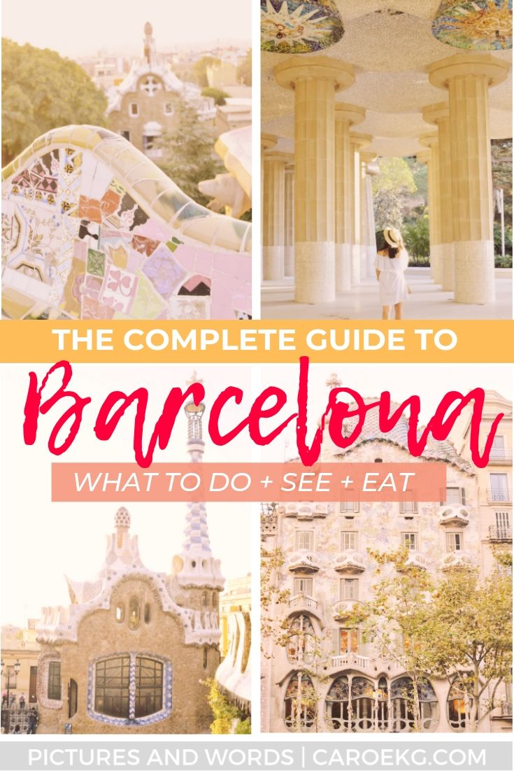 Barcelona in 3 Days: What to Do, See, and Eat