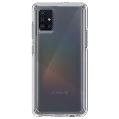 OtterBox Symmetry Fitted Hard Shell Case for Galaxy A51 - Clear