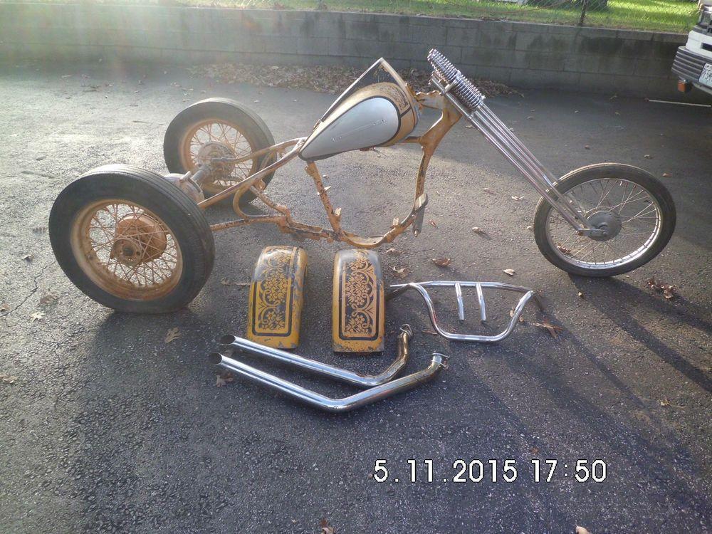 Used Harley Davidson Wheels >> Details About A Used 1950 45 Side Value Oem H D Trike Frame Rear