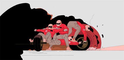 Amsterdam based comic artist Stefan Glerum