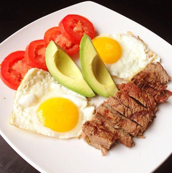 Палео диета завтрак