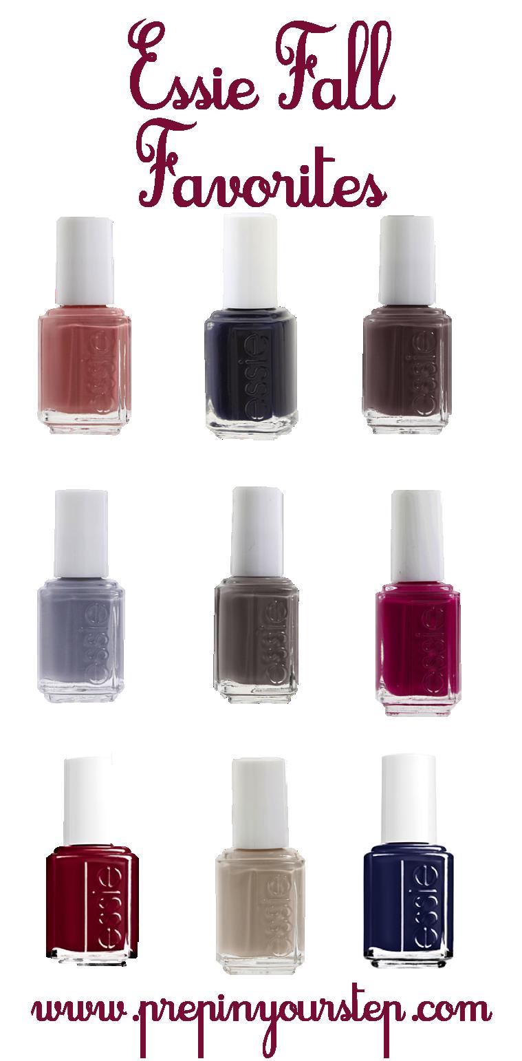 Essie Fall Nail Polish Favorites | s t y l e | Pinterest | Fall nail ...
