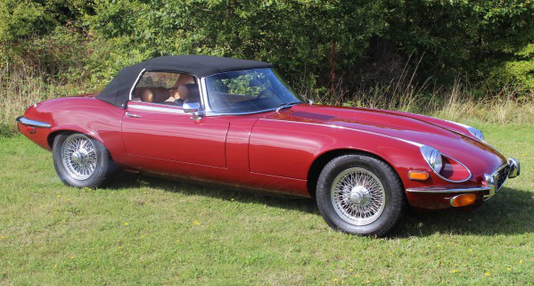 1973 Jaguar E Type S3 V12 Roadster - Silverstone Auctions