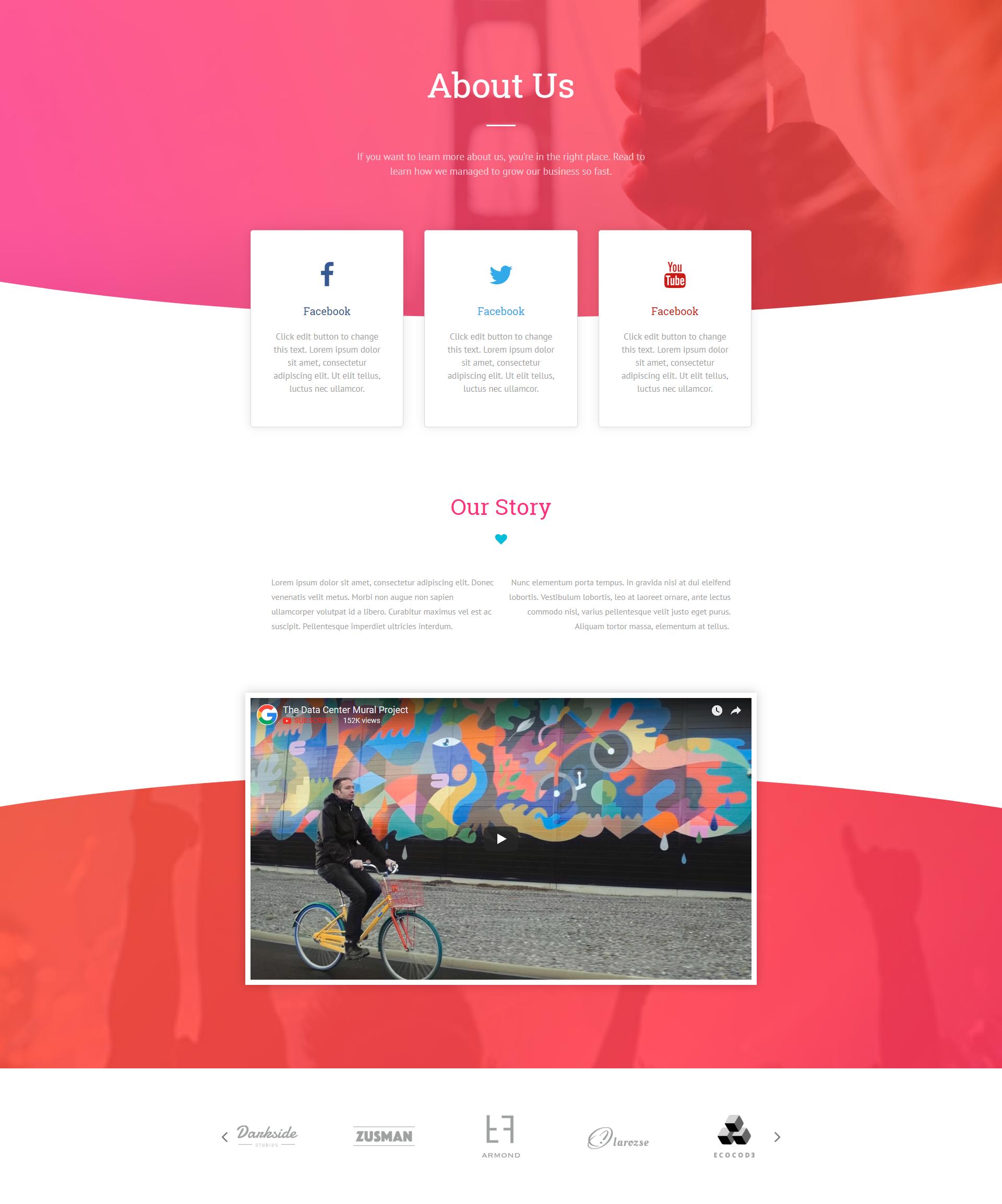 About Us Free Elementor Template Travel Website Design Popular Wordpress Themes Free Wordpress Website