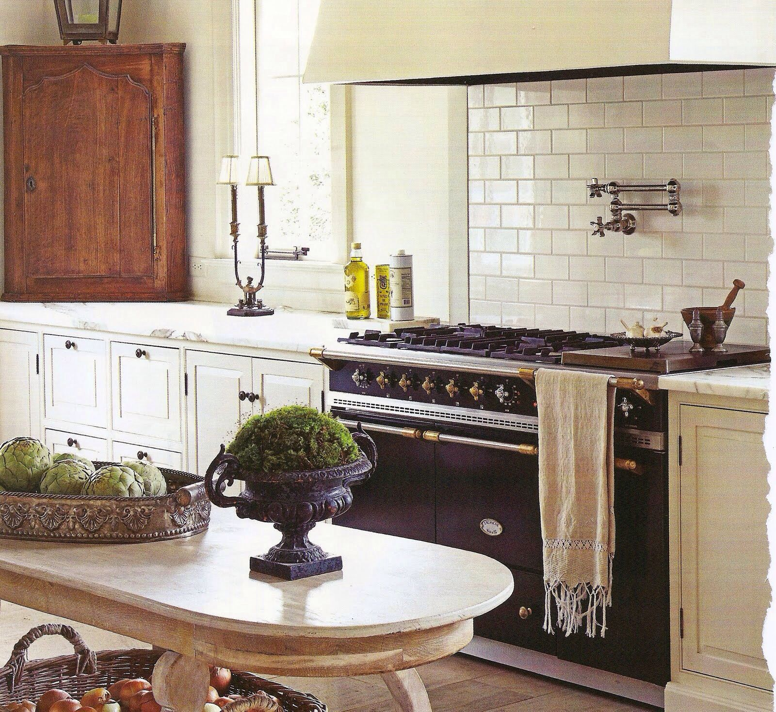 Lacanche range in a charming french kitchen | kitchens | Pinterest ...