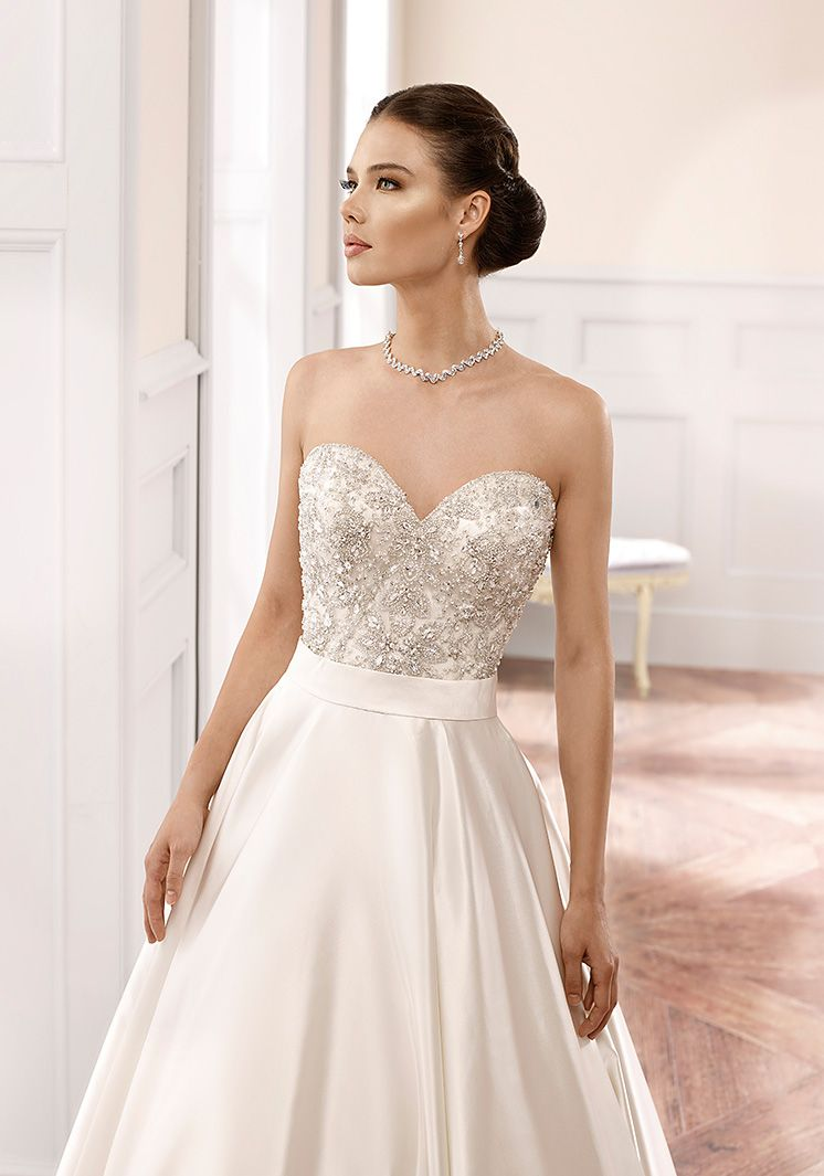 Milano wedding dress styles for body types vneck long sleeves