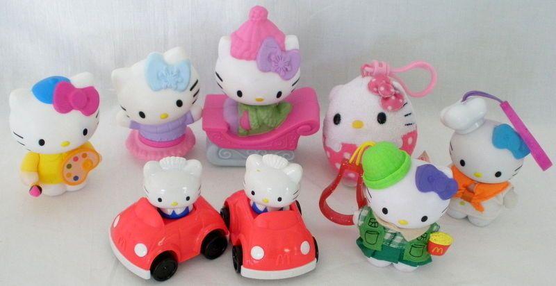 Hello Kitty Mcdonald S Toys : Hello kitty and dear daniel mcdonalds japan king queen plush