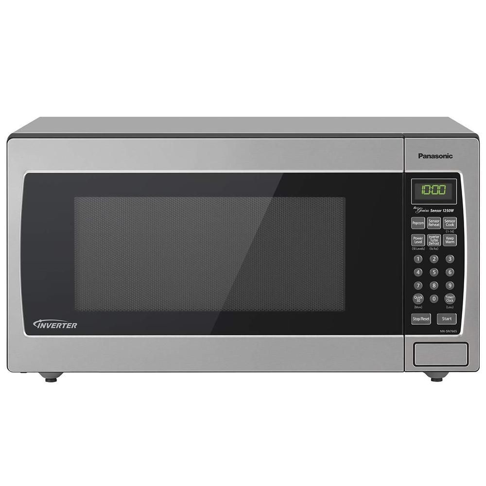 Panasonic Microwave Oven Stainless Countertop Built In Inverter Technology 1250w Microwave Oven Countertop Microwave Microwave