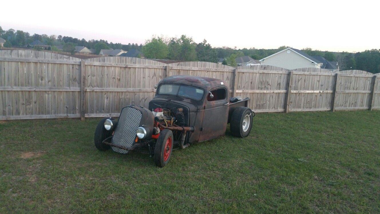 Pickup 41 chevy pickup : My '41 Chevy truck rat rod   rat rod   Pinterest   Rat rods, Chevy ...