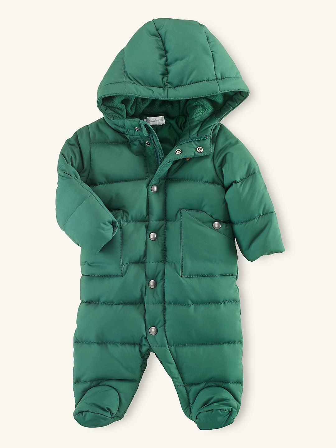 f3c74f534 Down Snowsuit - Sale Layette Boy (Newborn-9M) - RalphLauren.com ...