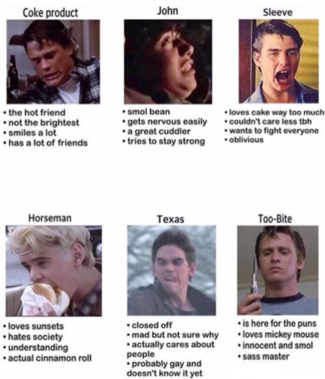 Tag urself>>>I am a combination of John and Sleeve with a dash of Horseman
