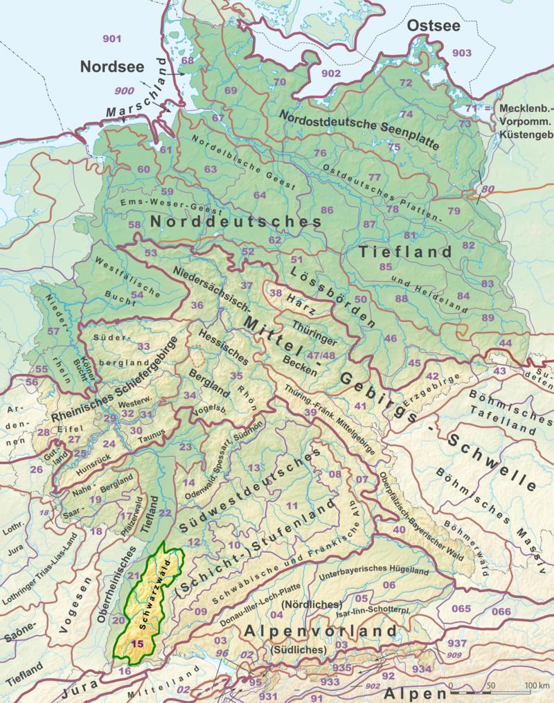 Schwarzwald Wikipedia Nordsee Schwarzwald Elbe