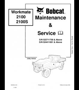 Best download bobcat workmate service repair manual