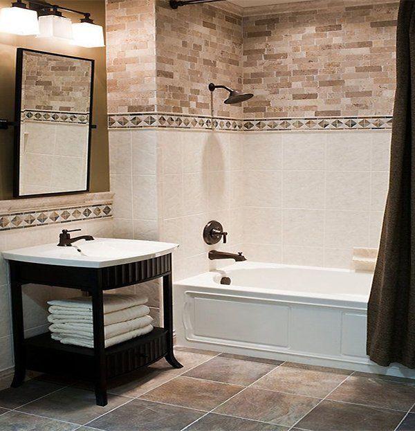 Ideas On Bathroom Tile Designs For A Fresh Look (With