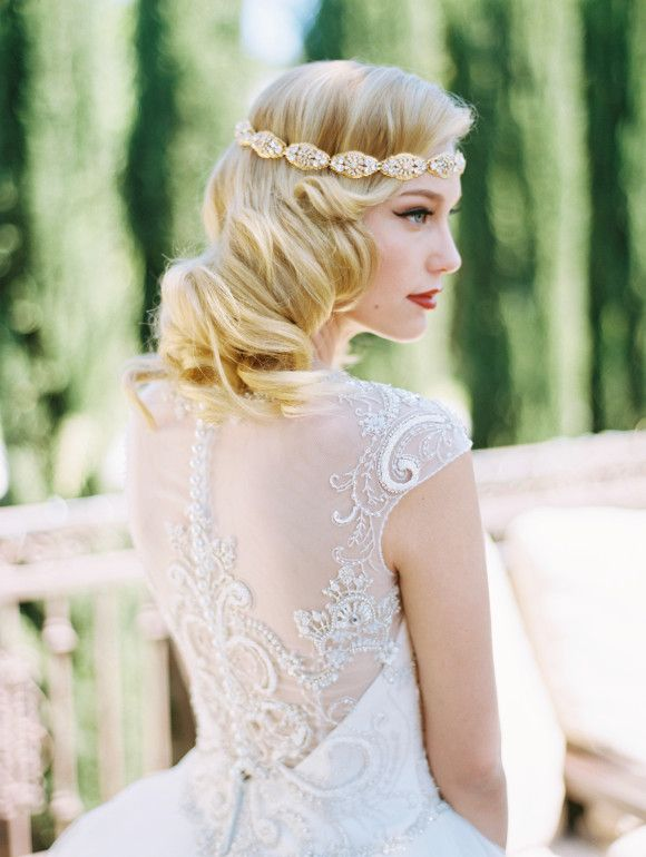 Southern California Bride Elegant And Classic Bridal Hairstyles