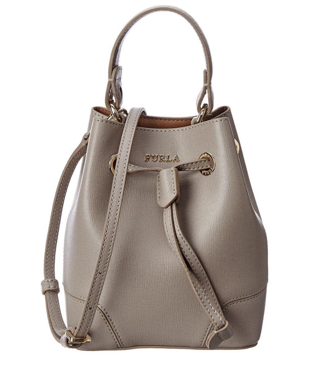 c04ac57b793c FURLA Furla Stacy Mini Leather Bucket Bag .  furla  bags  shoulder bags   hand bags  bucket  suede  lining