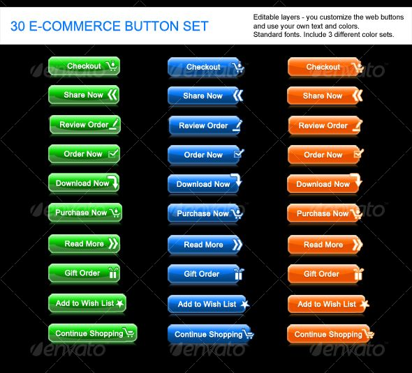 Ecommerce/Web button Nice buttons for your #Ecommerce needs http://www.aaanetsolution.com