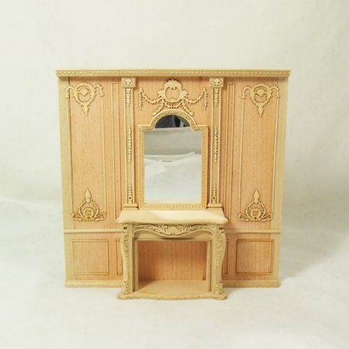 unfinished dollhouse furniture. Dollhouse Fireplace | Unfinished Items : Hanamini.com, Miniatures Furniture Pinterest