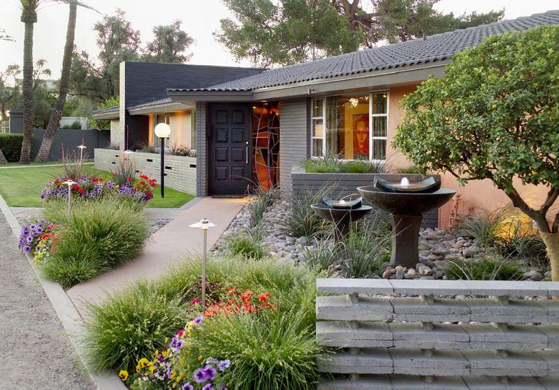 Tendencia Patios Y Jardines Sin Pasto Patio Y Jardin Jardines Patio Delantero Moderno