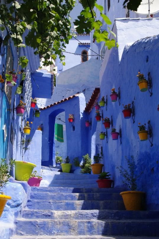 Chefchaouen looks like a place that shouldn't exist — and for more than 400 years, the locals liked it that way. Get a peek inside its maze-like lanes with us!